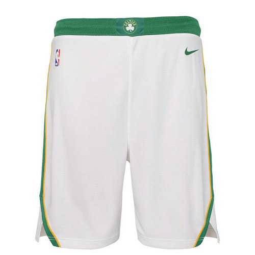 pantaloncini nba basket boston celtics 2018-2019 bianca