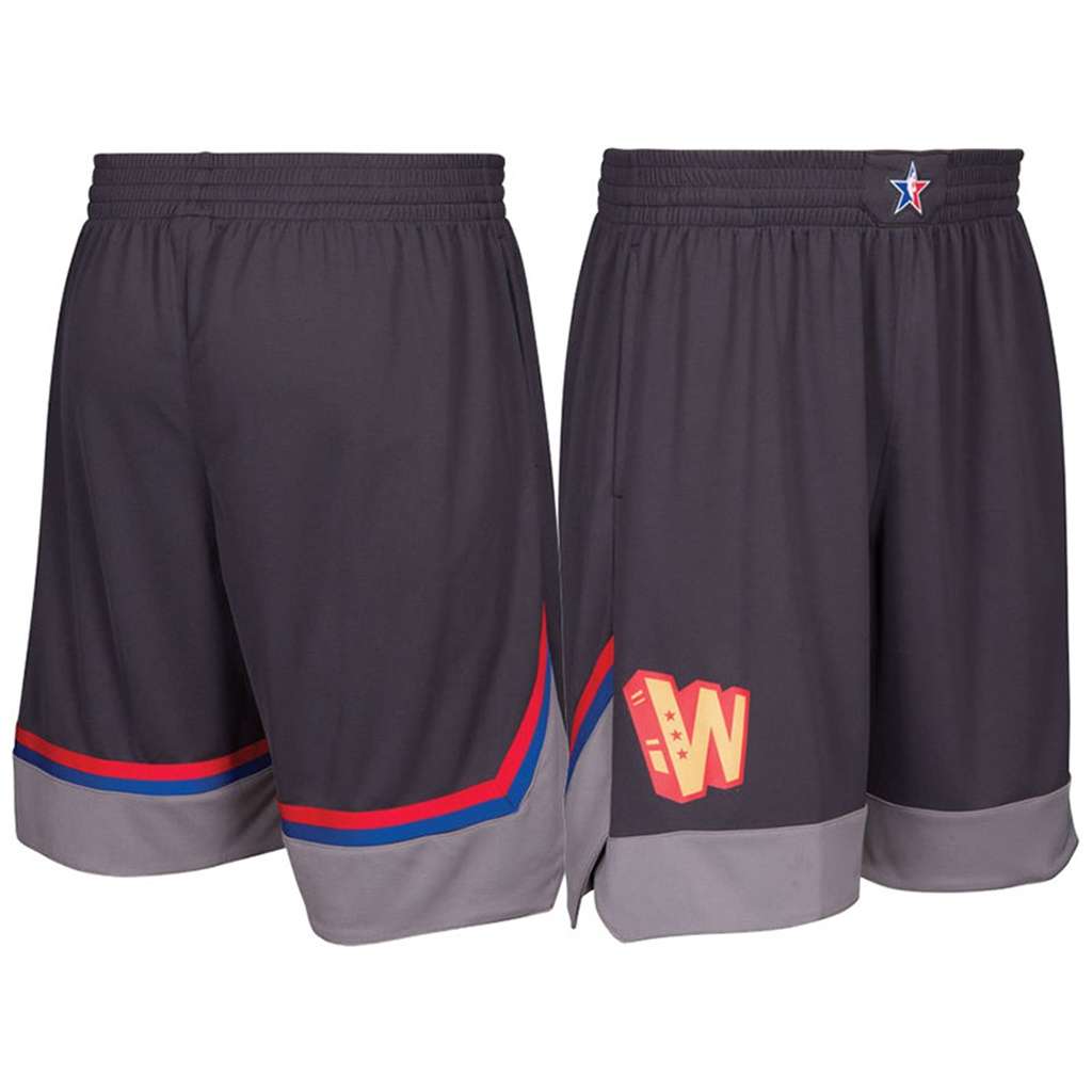 pantaloncini corti uomo basket nba all star 2017 marrone